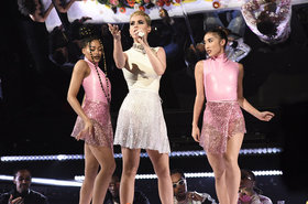 Katy perry performs snl 02 2017 billboard 1548 article