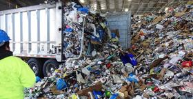 Waste transfer station 1 article