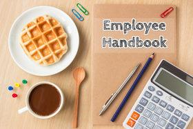 Employee handbook and breakfast 700x467 article