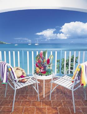 Grand case beach club balcony article