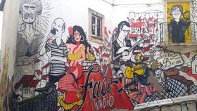 Fado graffiti article