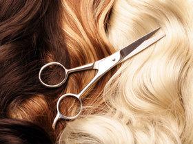 Hair cut scissors article