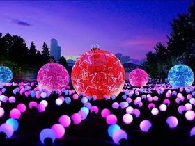 9 magical colour 18m color ball 200 piece article