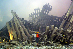 Wtc rubble air quality 9 11 article