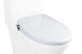 Alpha one toilet seat article