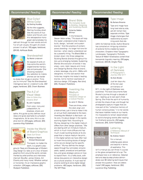 Reading list article
