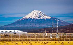 Feature trip to japan mount fuji shinkansen bullet train article