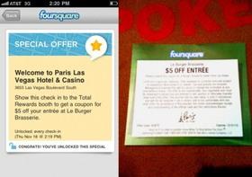 Paris las vegas foursquare special article