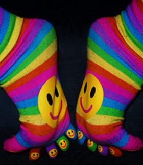 Smiley socks article
