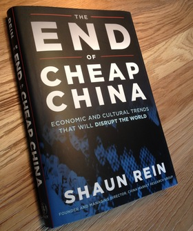 The end of cheap china article