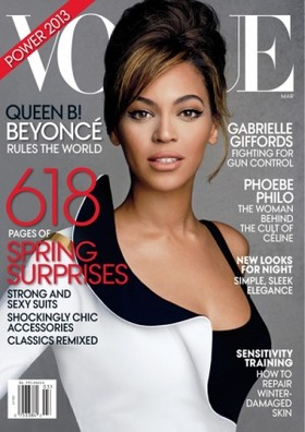 Beyonce vogue article