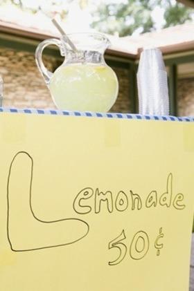 Lemonade stand article