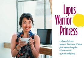 Lupus warrior princess article