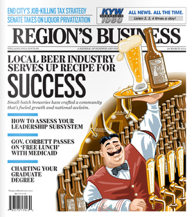 Regions business craft beer article by lisabeth weber article article