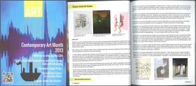 Art magazine march 2013 article