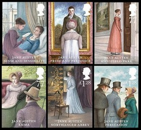 Jane austen stamps article