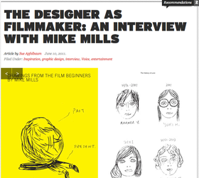 33393 aiga the designer as filmmaker an interview with mike mills article