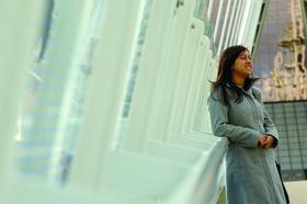 Female student at university of salford mediacityuk article