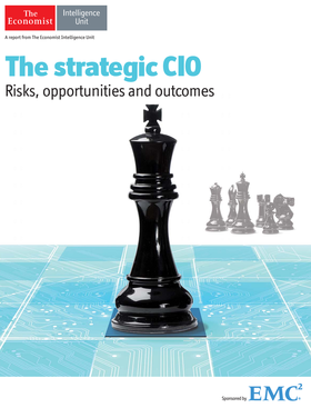 Strategic cio front page article