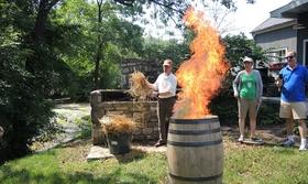 Bourbon distillery promo article