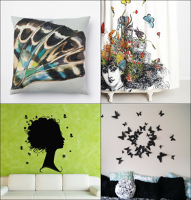 Butterfly accents article
