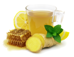 Hot ginger lemon honey drink article