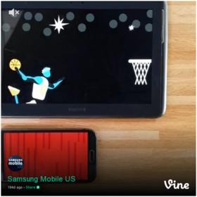 Samsung mobile vine article