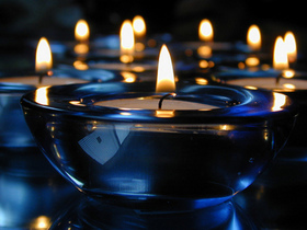 Candles a burning article
