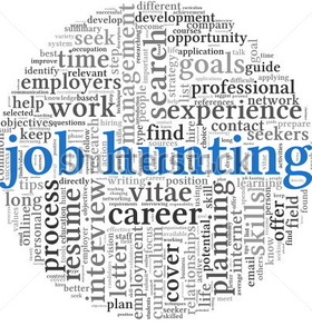 Stock photo job hunting concept in word tag cloud on white background 114667954 article
