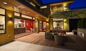 Evoke modern patio article