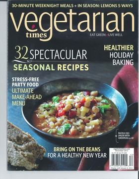 Vegetarian times article