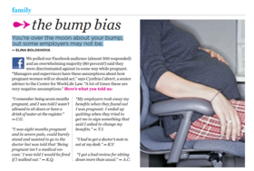 Bump bias article