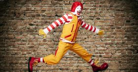 Ronald mcdonald new outfit article