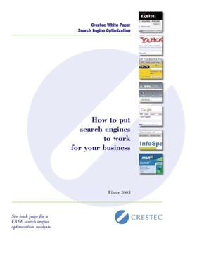 Search engine white paper page 1 article