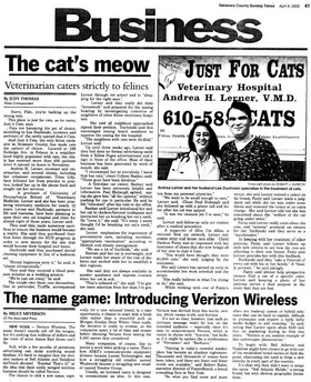 Cats article