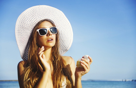 Everyday sun protection article