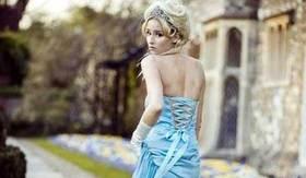 Wedding blue dress 2013 article