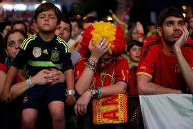 Spain out of world cup article