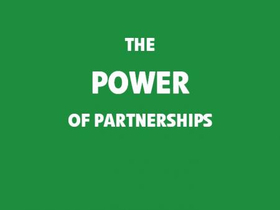 Power of partnerships tile article
