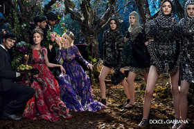 Dolce and gabbana winter 2015 women advertising campaign 05 article