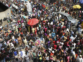 Africa population boom article