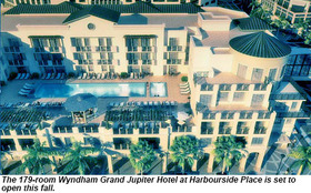 Wyndhamgrandjupiterhotelharboursideplace opening article
