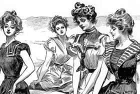 800px gibson girls seaside  cropped  by charles dana gibson article