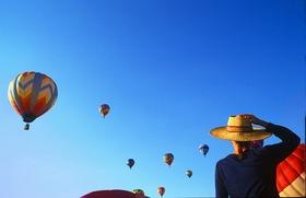 Hot air balloon festival bill russ visitnc.com  article