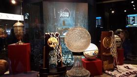 761 kansas trophy case at phog allen fieldhouse article