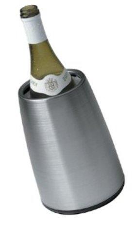 Vacu vin prestige stainless steel tabletop wine cooler article