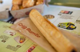 Taco time crisp beef burrito article