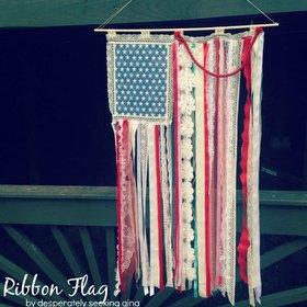 Ribbon flag  article