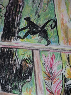 Monkey on the move article