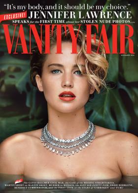 Vanity fair jennifer lawrence nude pics article